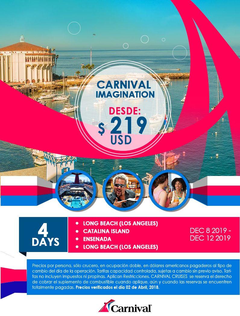Crucero Carnival Imagination