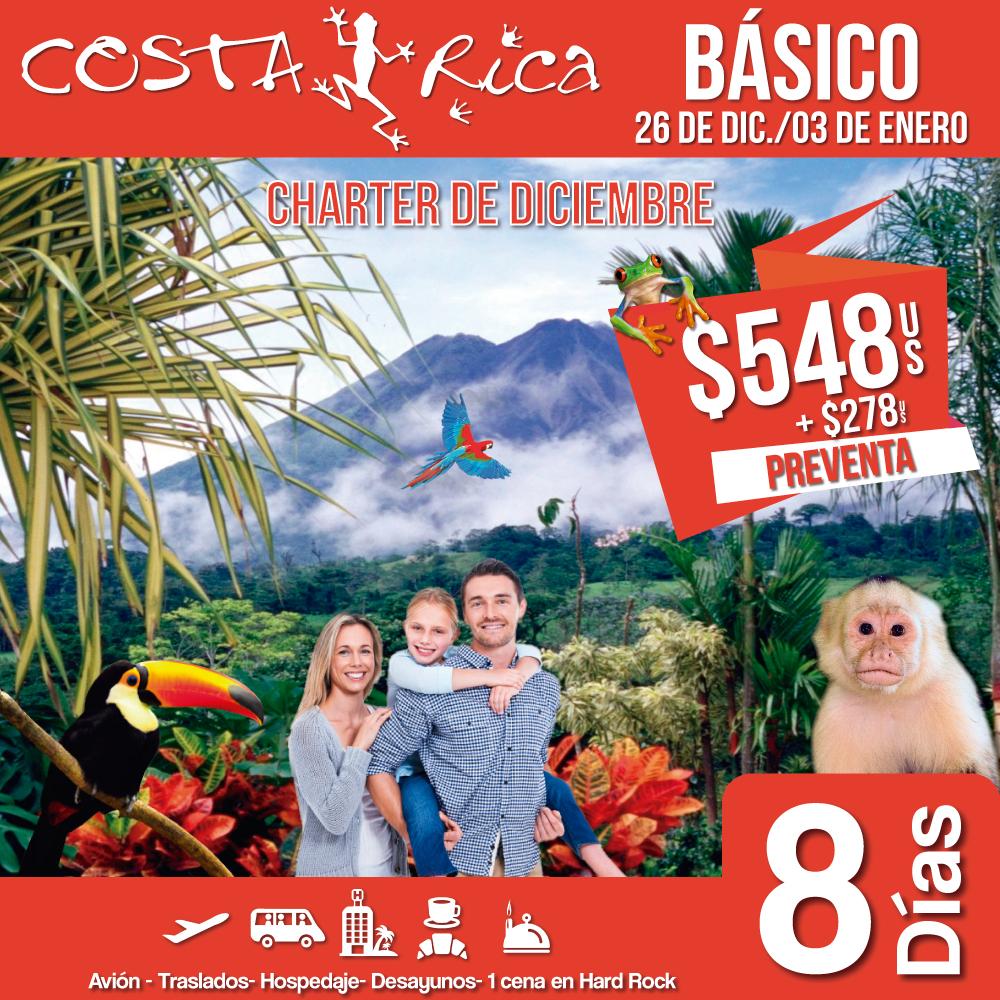 Fin de Año Costa Rica Básico 26 de Diciembre 2018