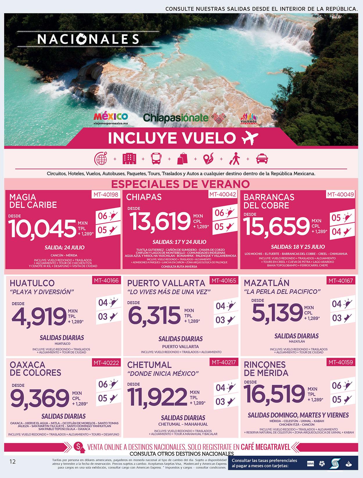 Ofertas de Viajes Por México Todo Incluido
