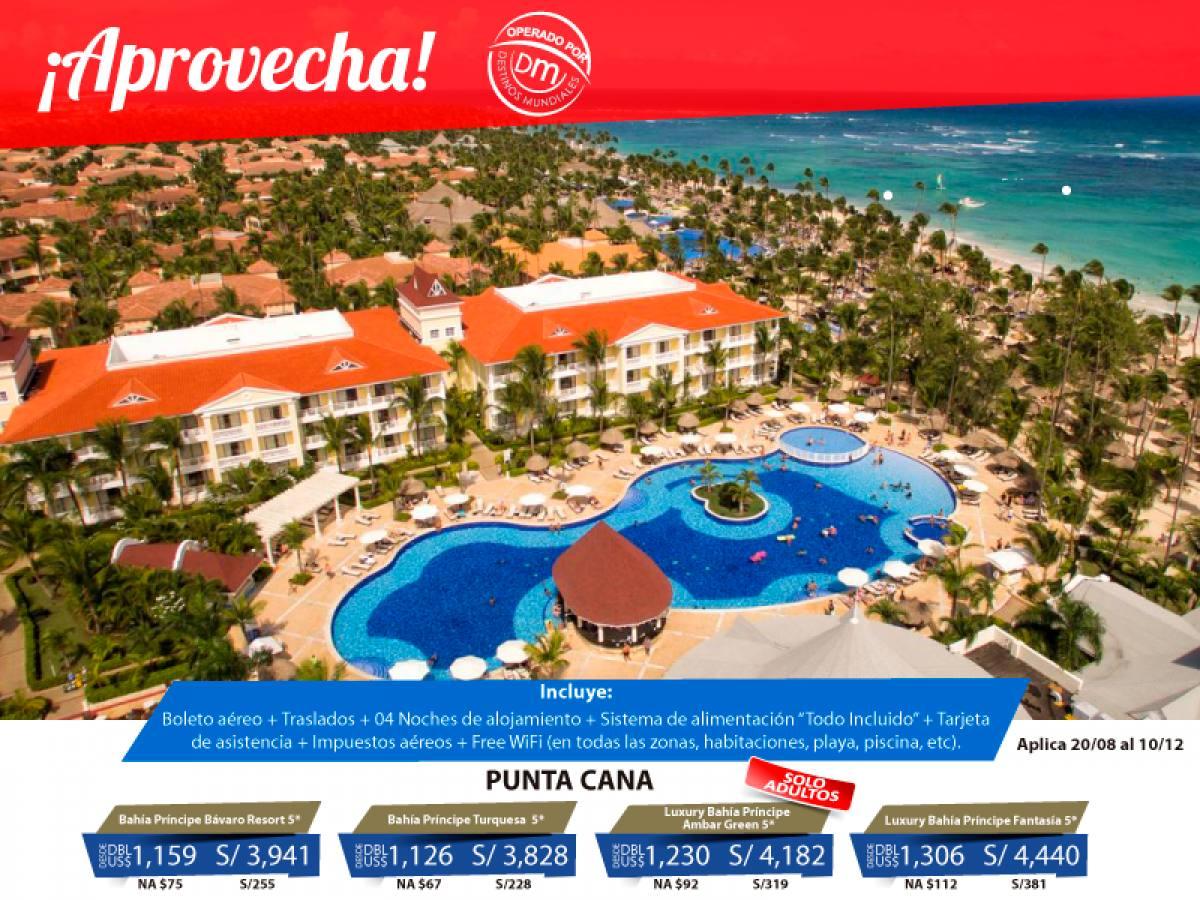 Paquete a Punta Cana Todo Incluido desde Lima