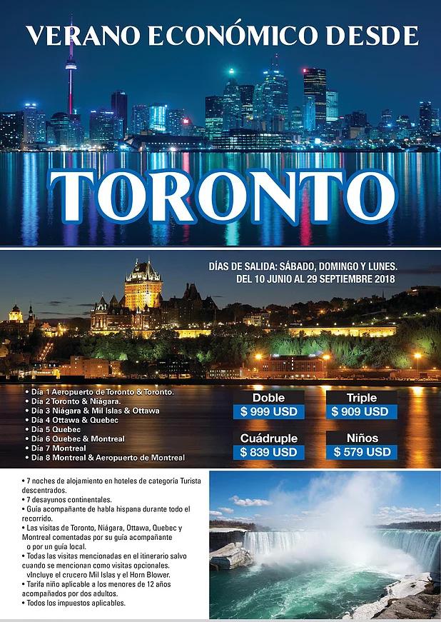 Paquetes a Canadá Todo Incluido desde Guadalajara