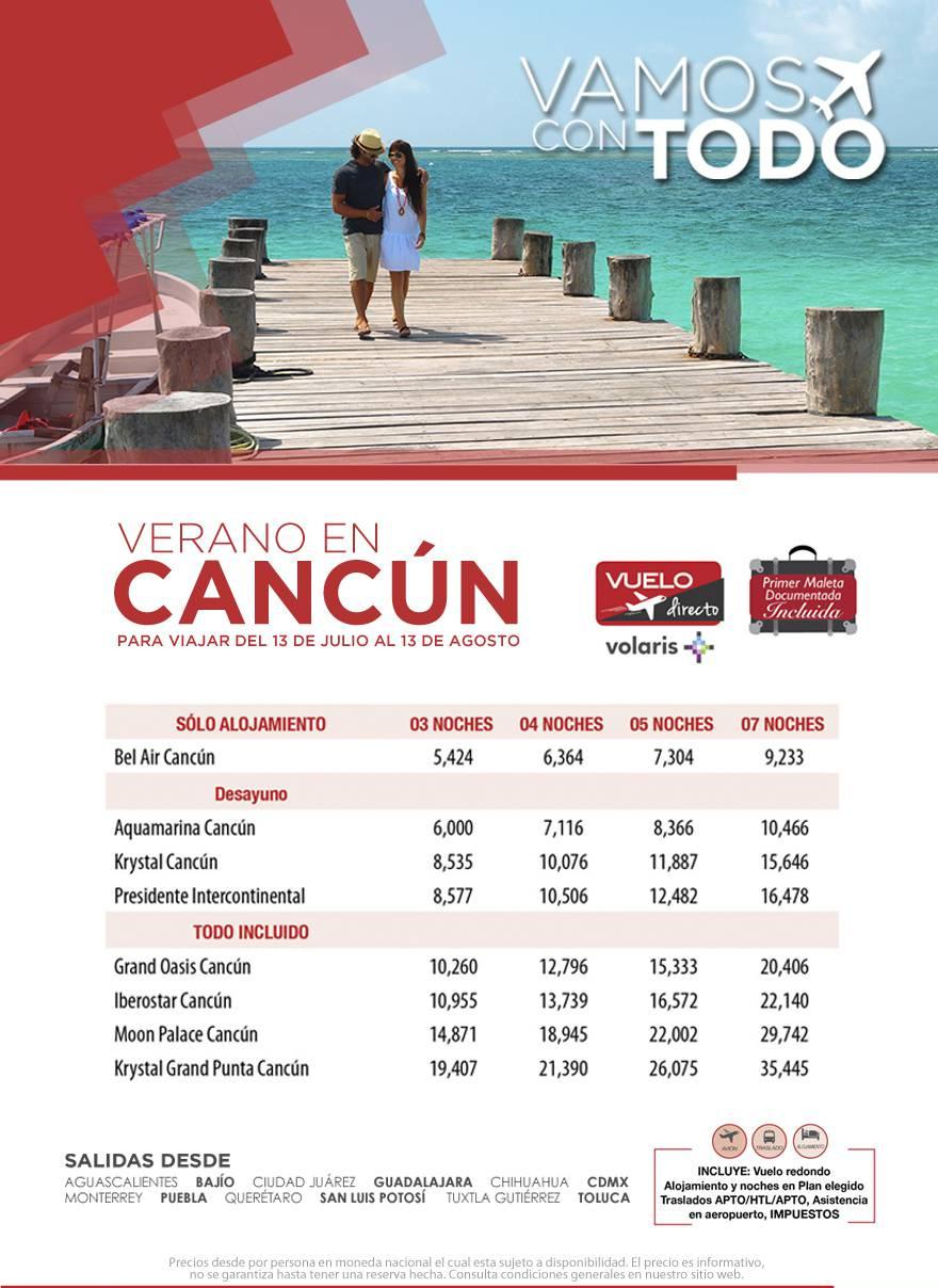 Paquetes a Cancún Todo Incluido Vuelos desde México