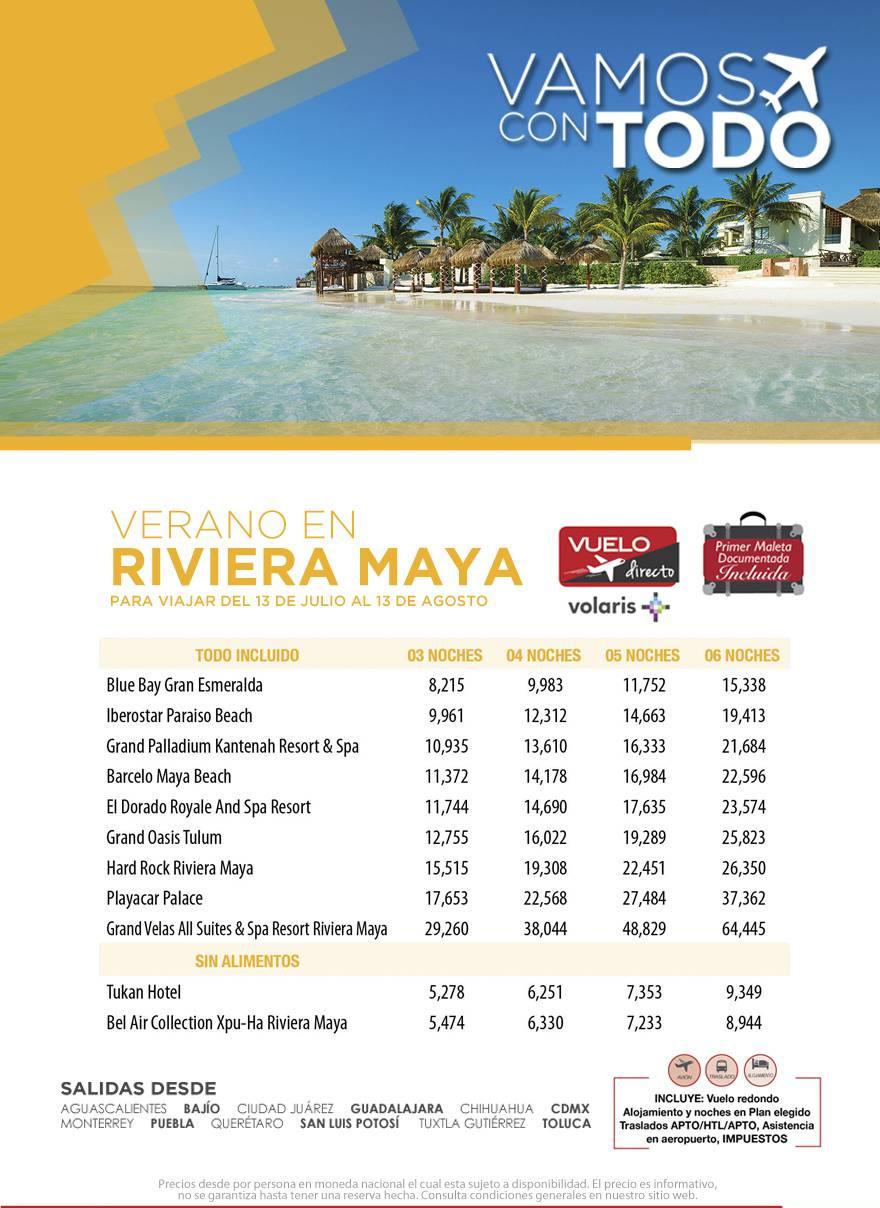 Paquetes a Riviera Maya Todo Incluido Vuelos desde México
