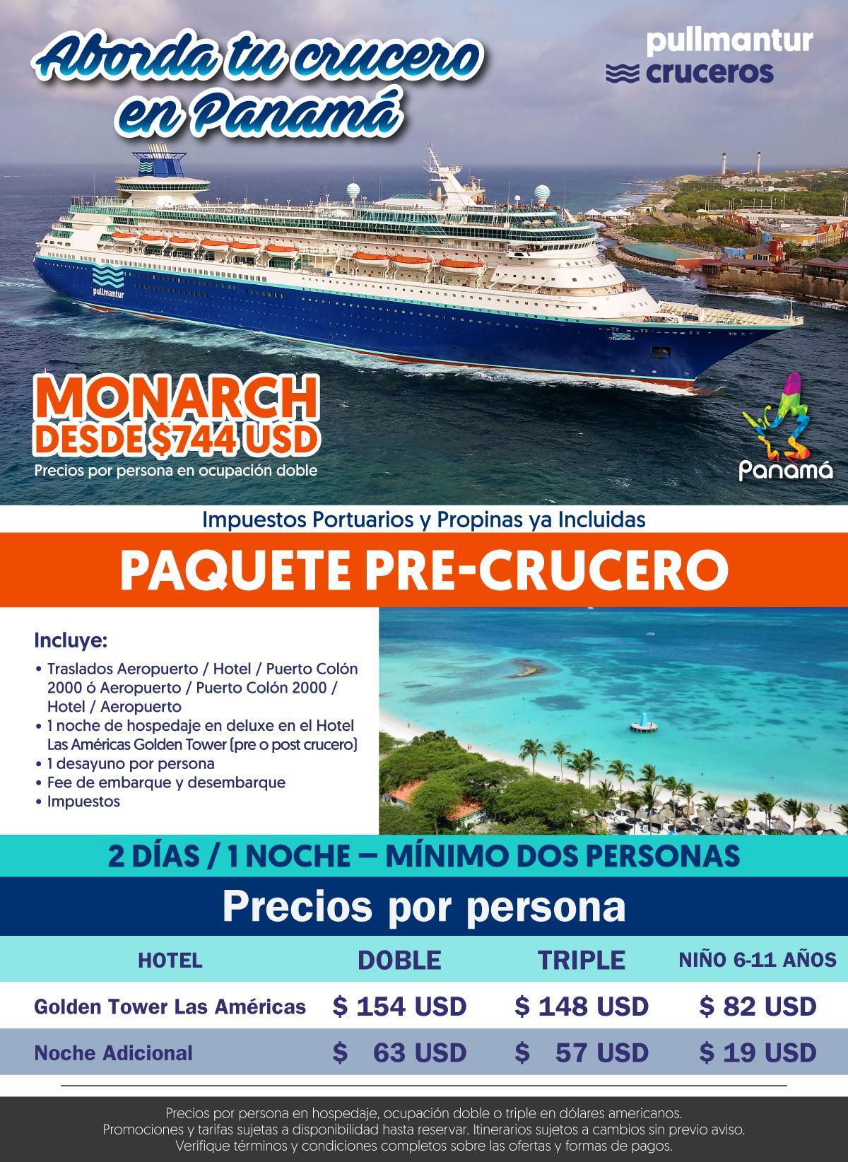 Pullmantur Aborda Tu Crucero en Panamá