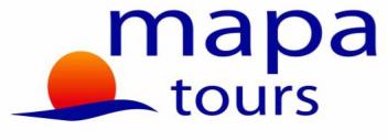 Mapa Tours España