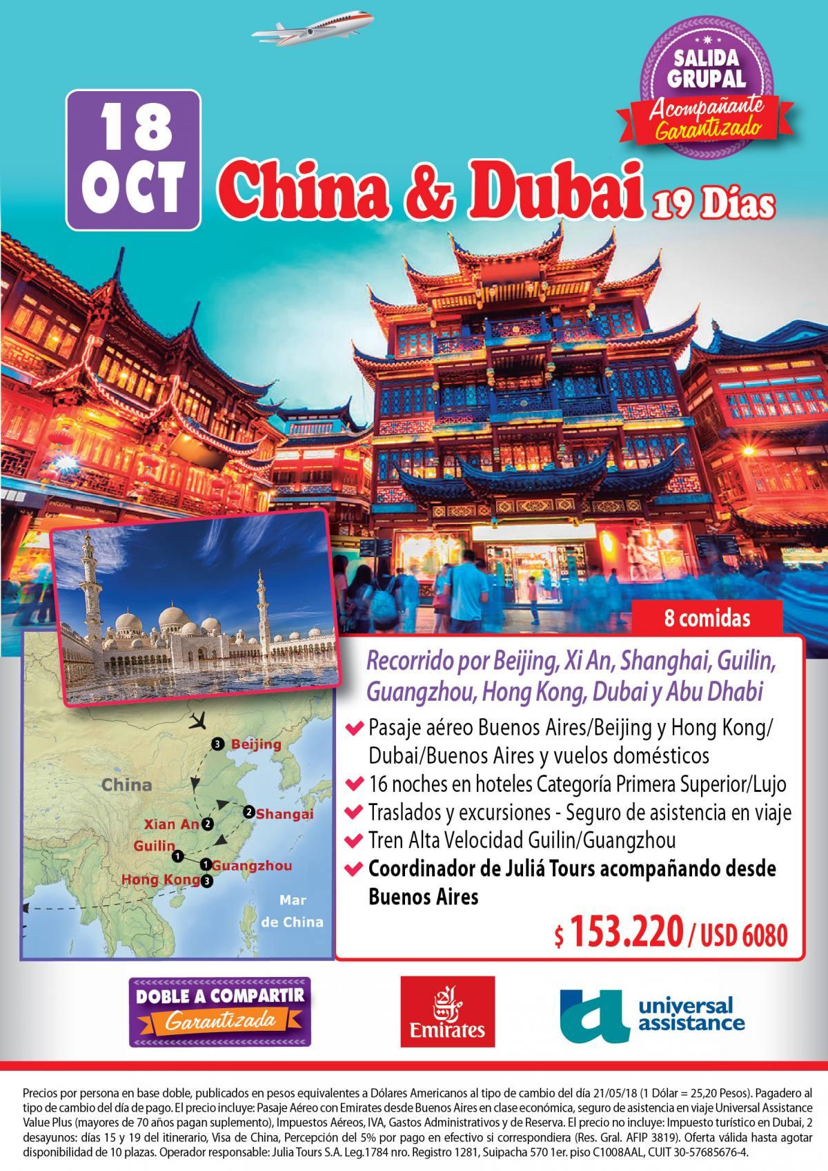China y Dubái