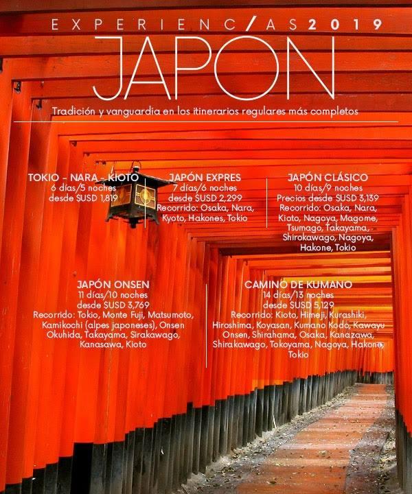 Japón Experiencias 2019