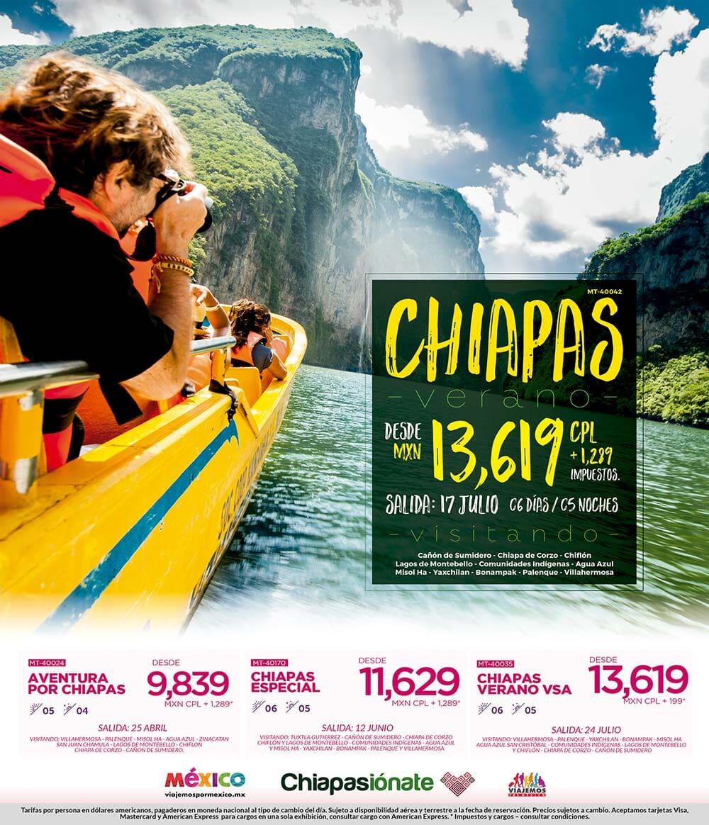 Paquetes a Chiapas Todo Incluido desde México