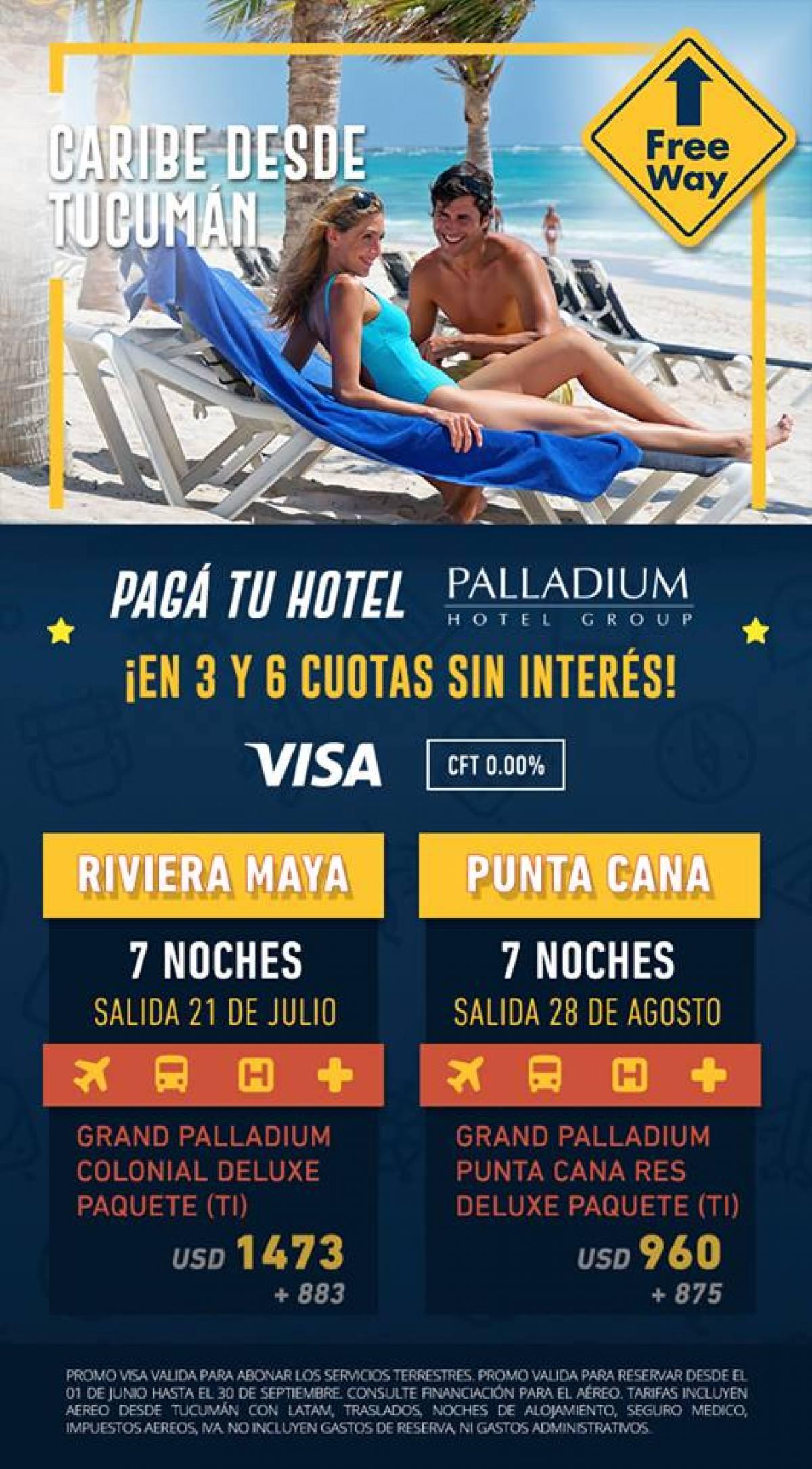 Viaje al Caribe Todo Incluido desde Tucumán Argentina