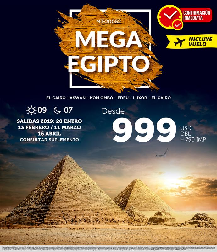 Viaje Promocional a Egipto 2019