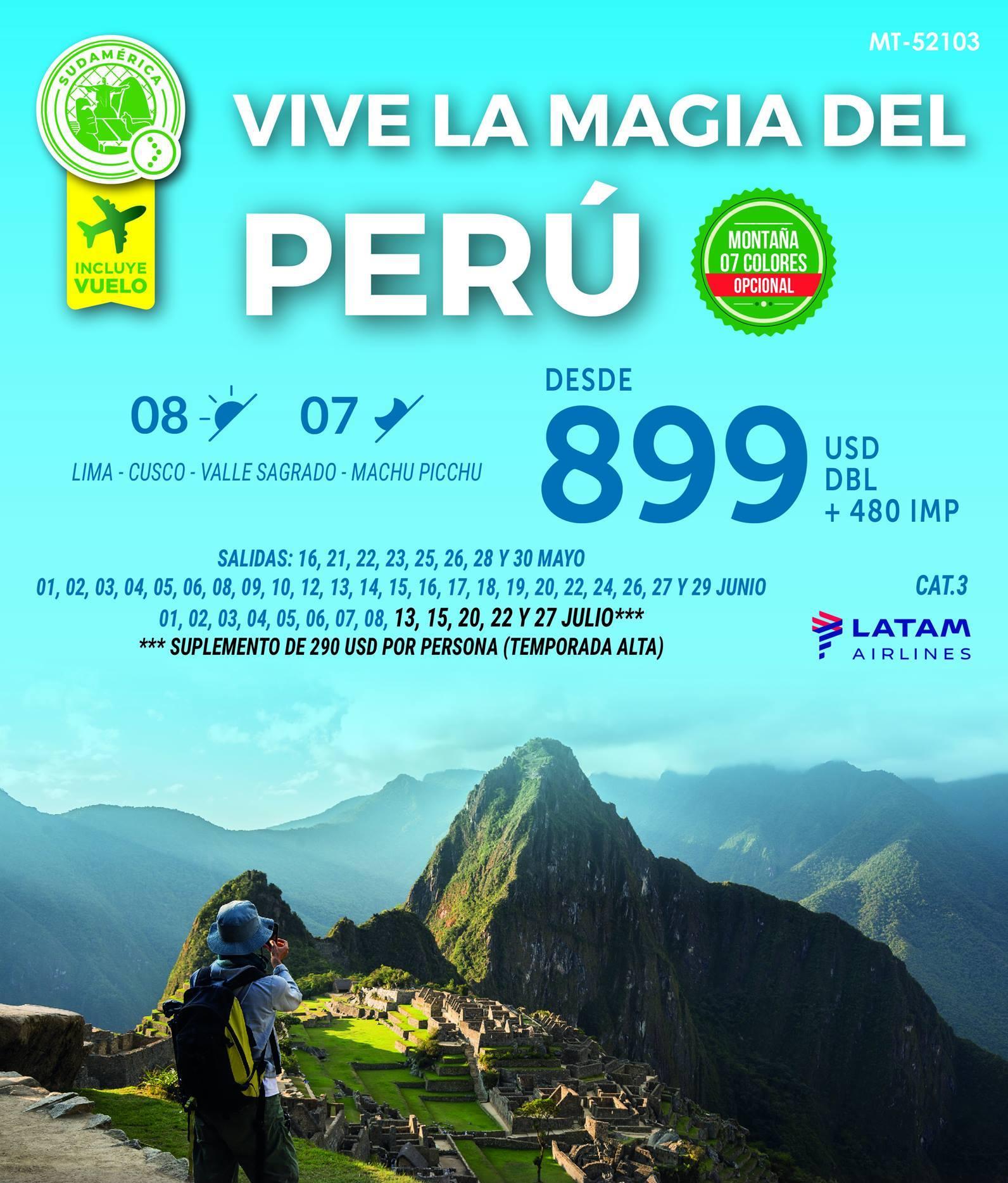 Vive La Magia Del Perú Todo Incluido
